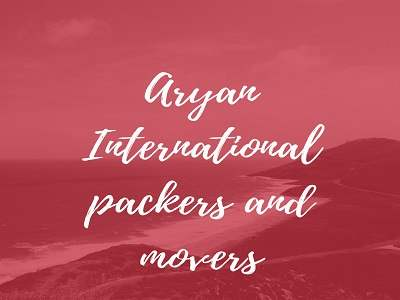 aryan gur packers and movers