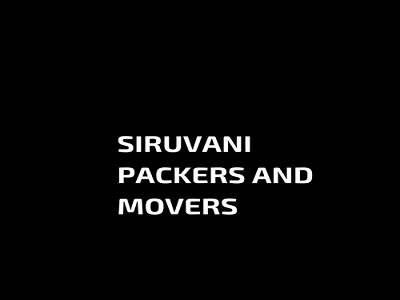Siruvani Packers & Transport